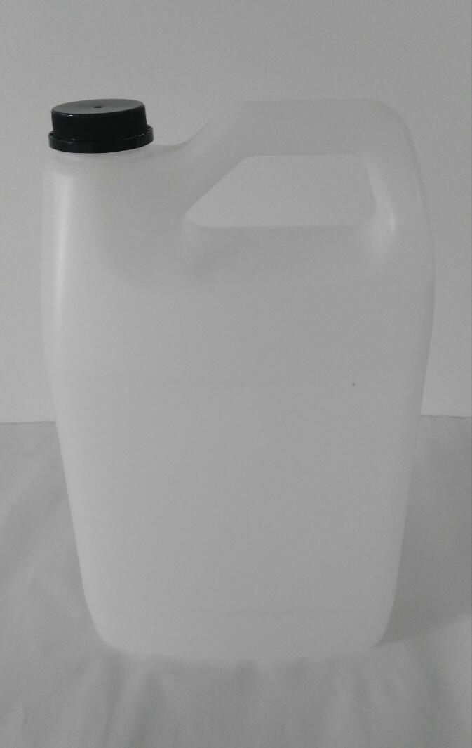 Garrafa plana 1 galón  HDPE