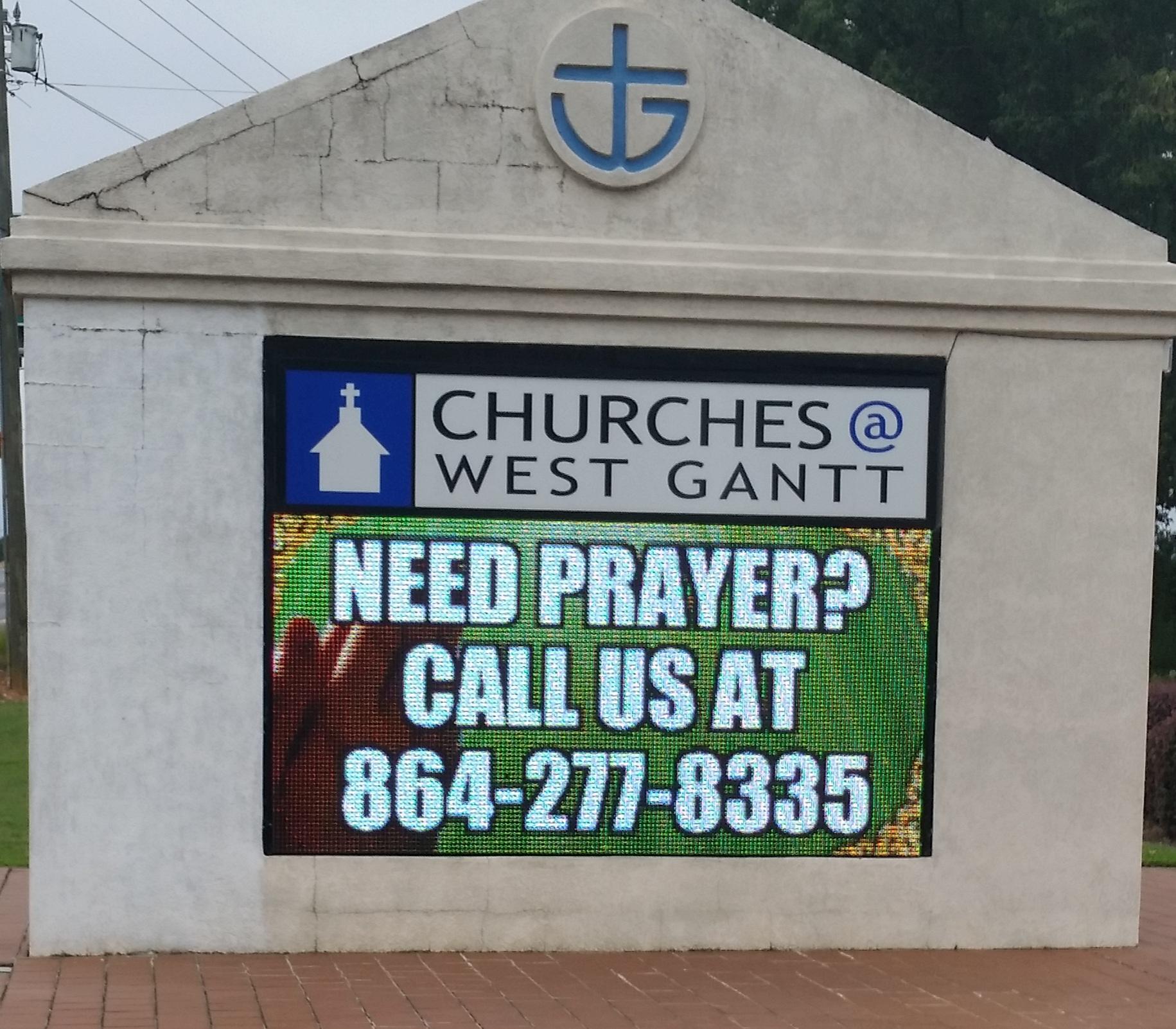West Gant Baptist Church Greenville, SC