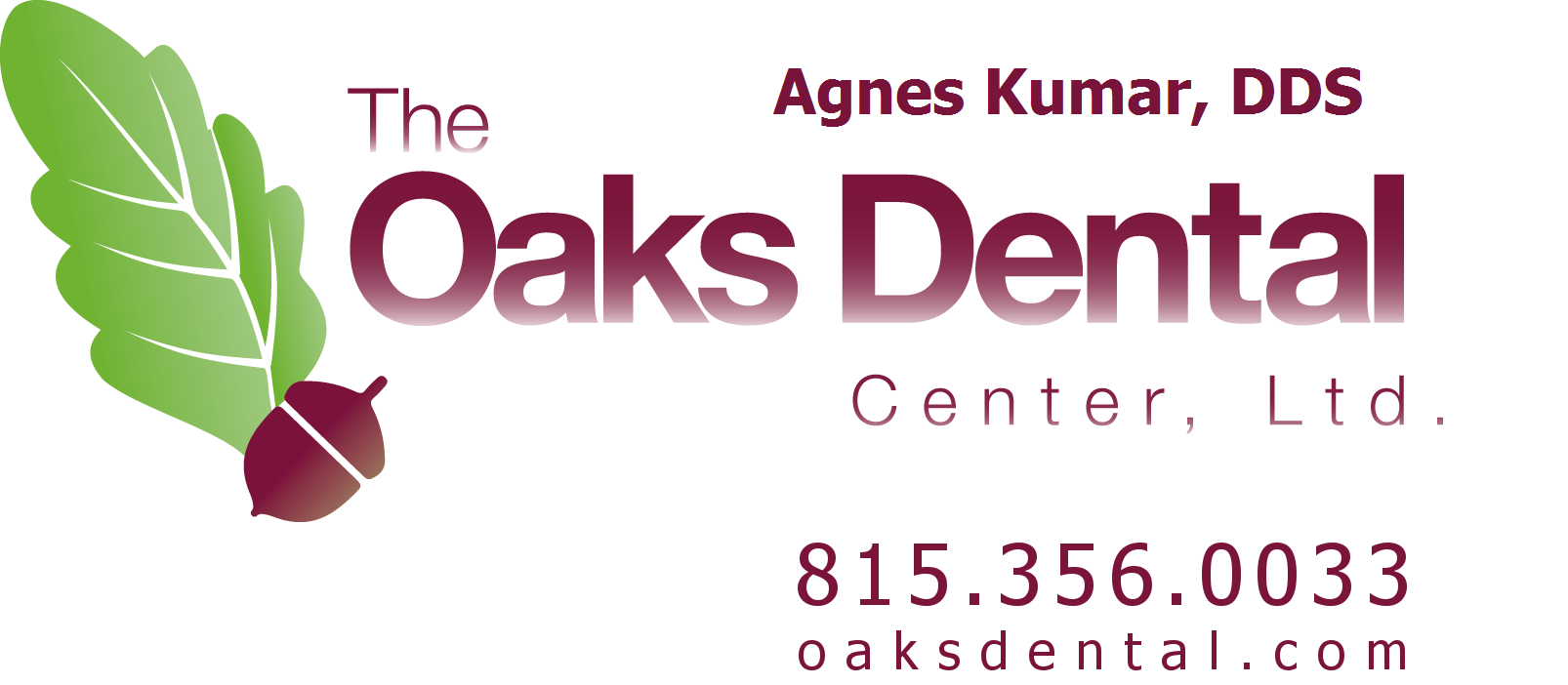The Oaks Dental Center, Ltd. - Agnes Kumar, DDS