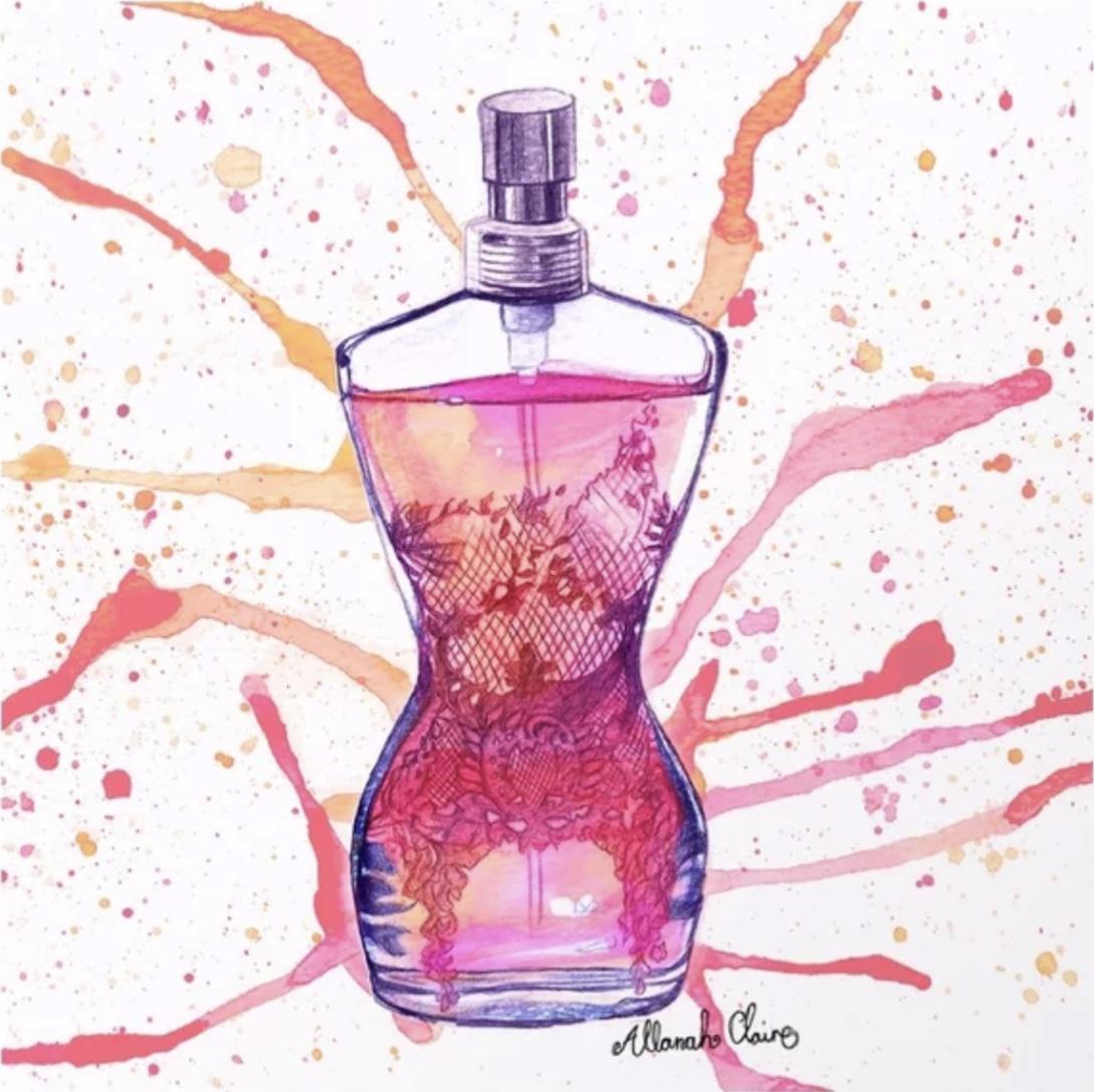 Classique Perfume Splash, 2015.