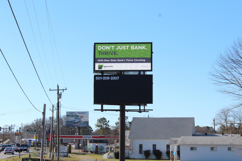 Digital & Static Billboard Hwy 5 & Alcoa  Bryant, AR