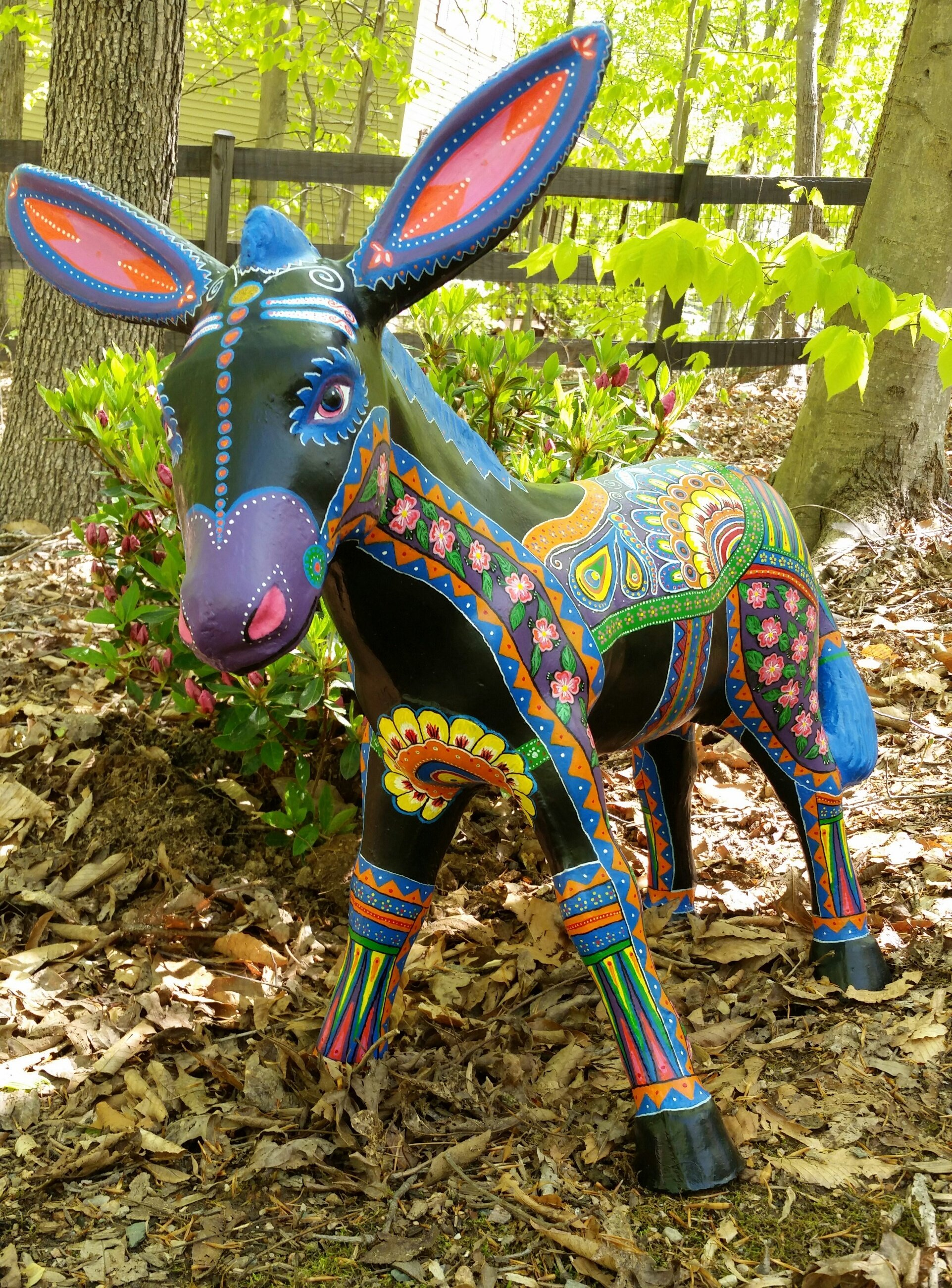 Wonky Donkey is up for  bid through an auction with Green Dogs Unleashed for more info go to the Home page.