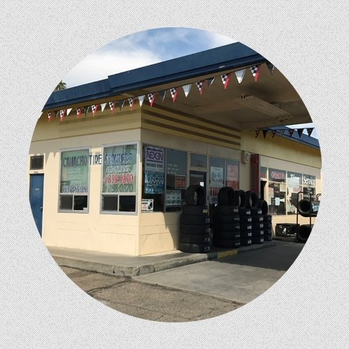 Camacho Tires Store Front