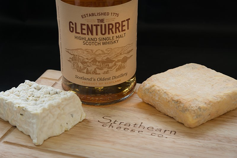 Strathearn cheeses and the local dram