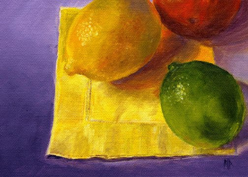 """Happy Hour ~ 5""""x7"""" Oil on Canvas Panel  SOLD"""