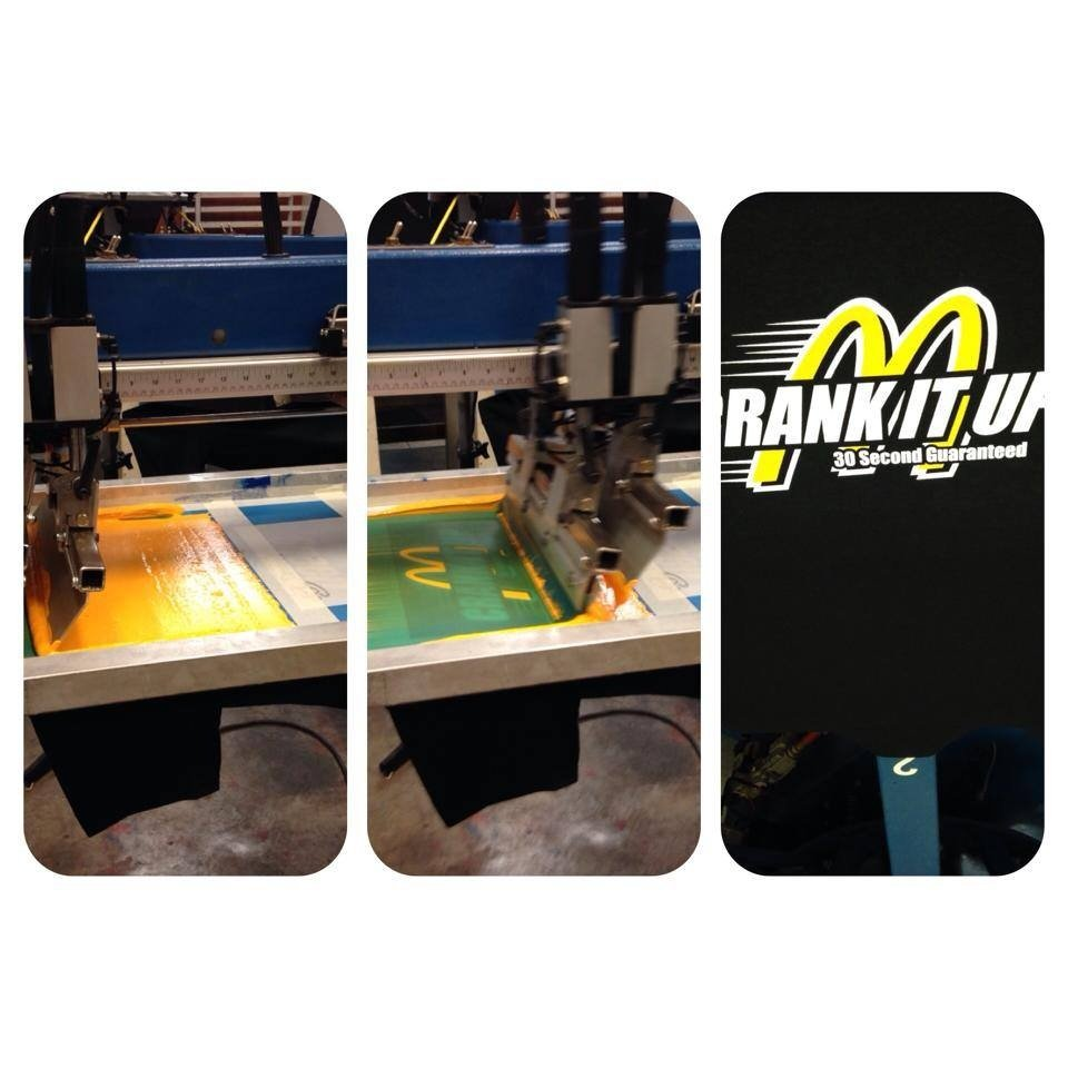 Shirt Printing and End-Result