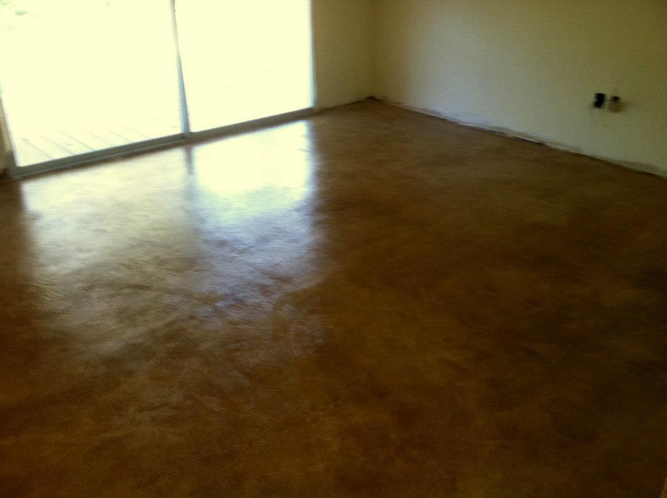 Renovated Concrete Floor