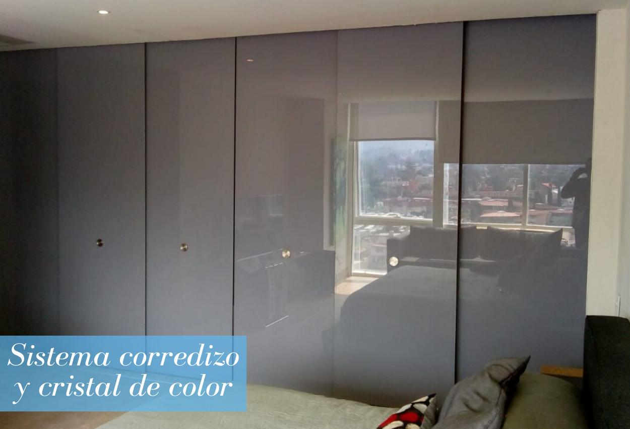 Puertas de cristal de color