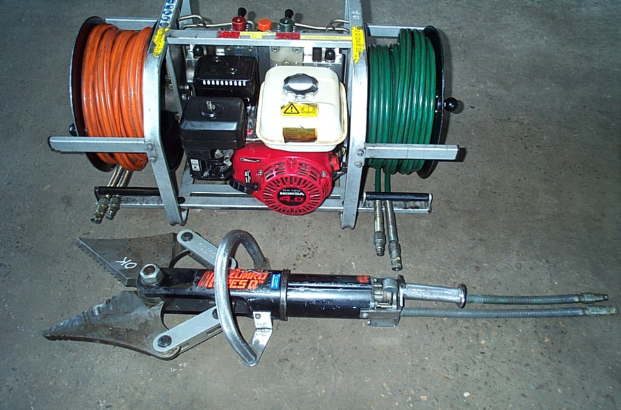 Jaws of Life Hydraulic Cutters
