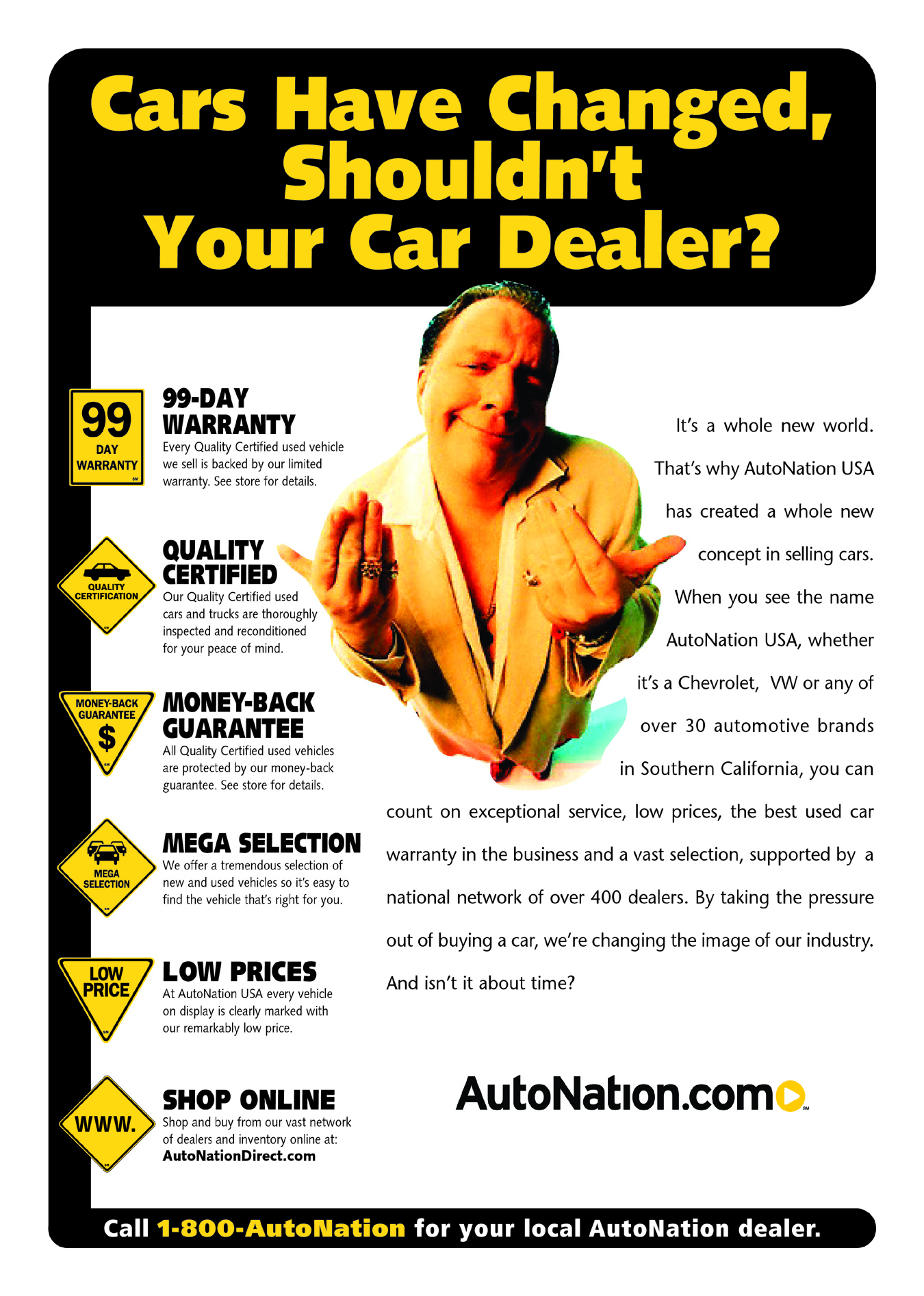 AutoNation Southern California Intro Campaign