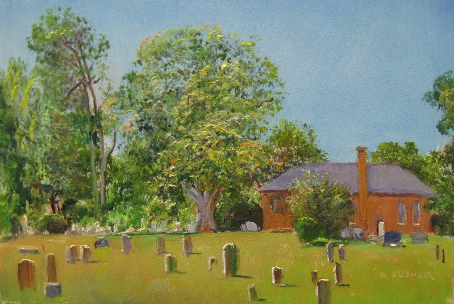 55. SOLD High Bridge Presbyterian Church Cemetery, 6x9 op