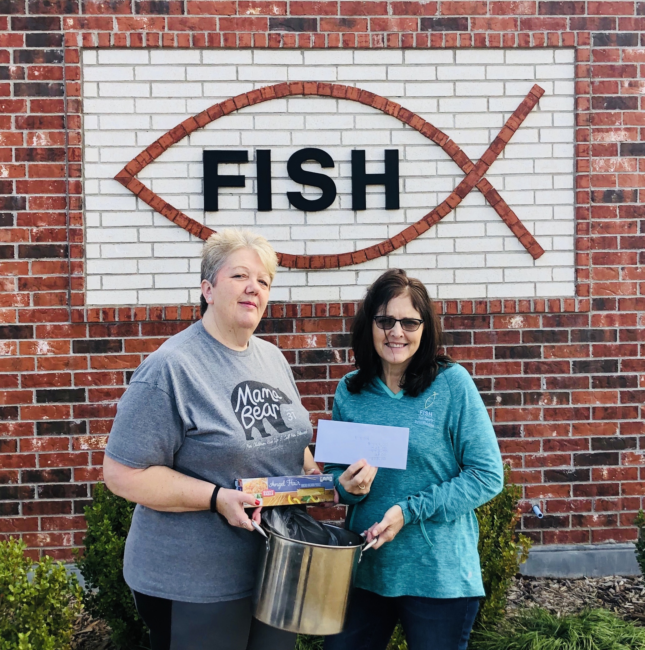 Donation to FISH