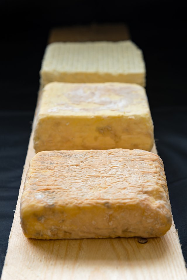Strathearn cheese stages of maturation