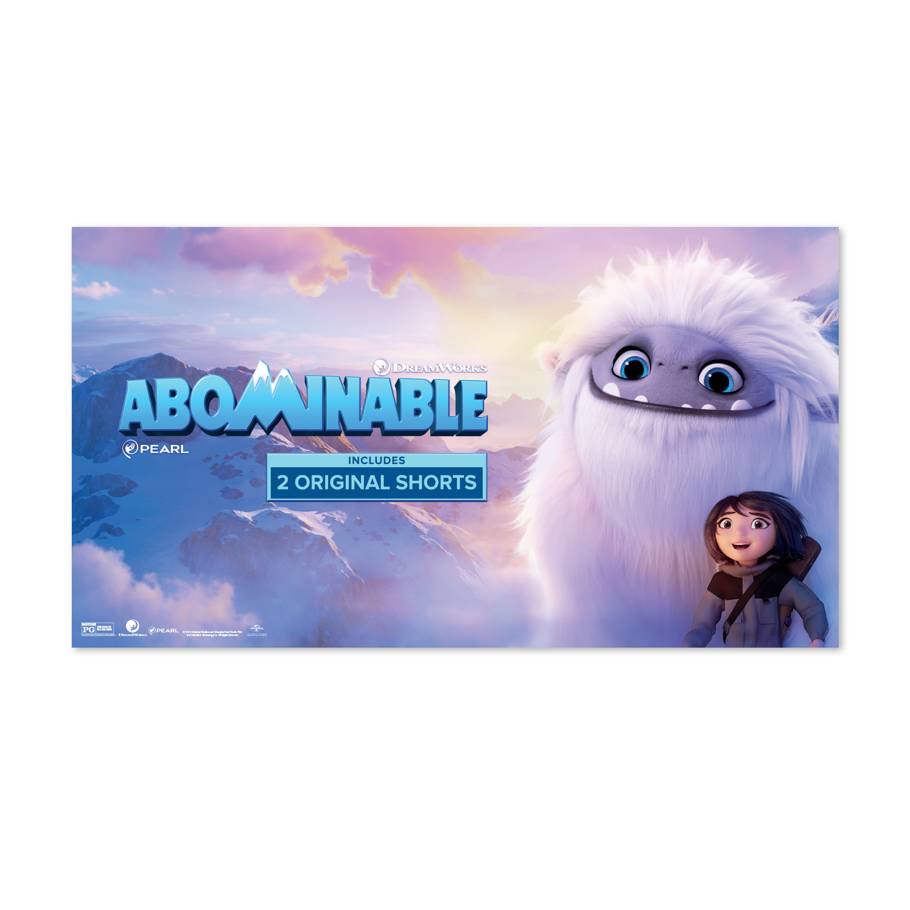 Abominable Target New Release Sign