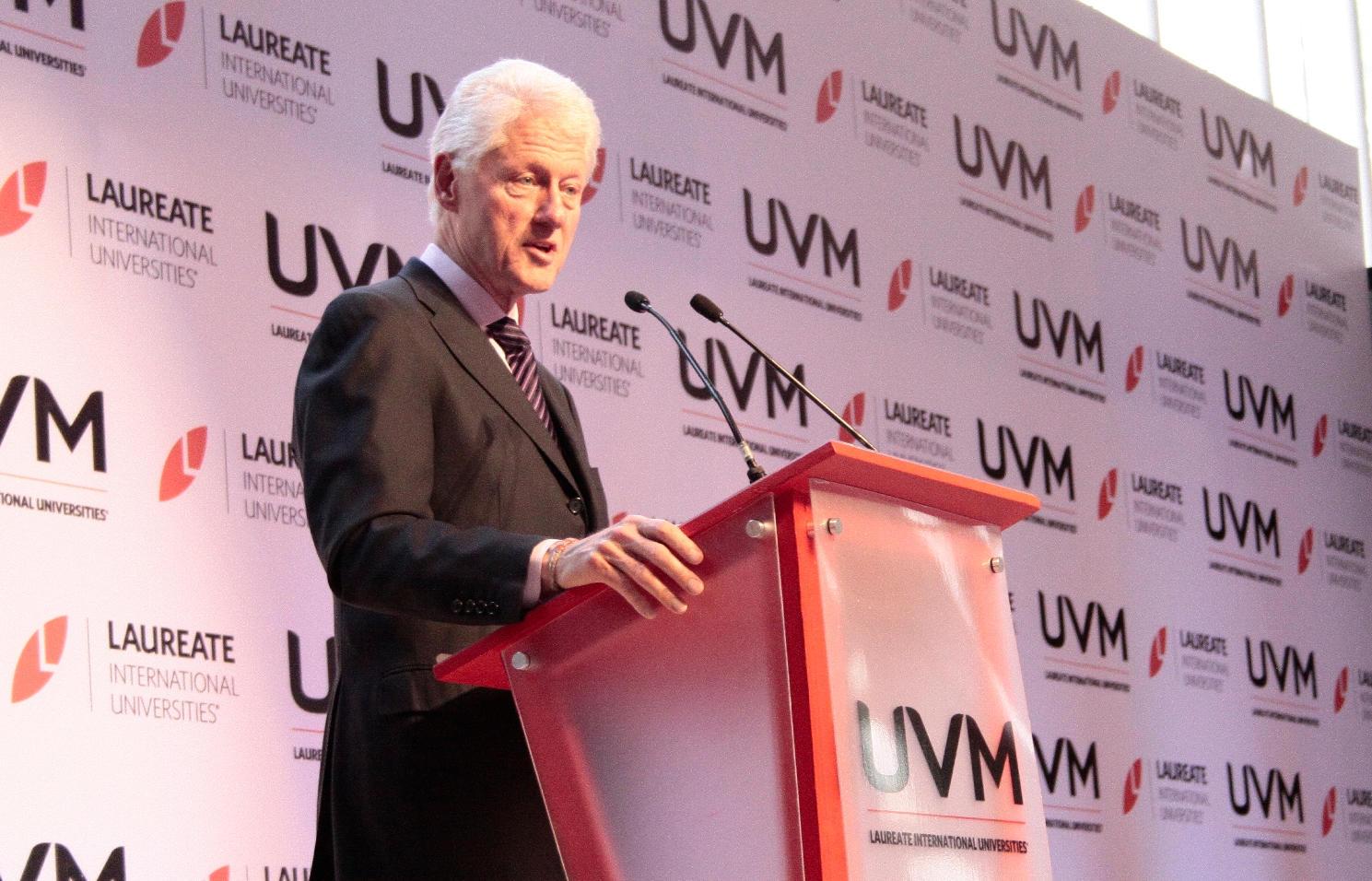 Visita Presidente de los Estados Unidos Bill Clinton