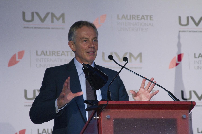 Visita Ex Primer Ministro del Reino Unido Tony Blair