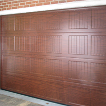 Functional Brown Garage Door