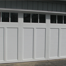 Beautiful Paneled Garage Door