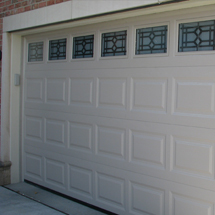 Functional White Garage Door