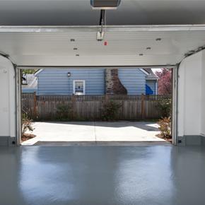 Opened-Garage