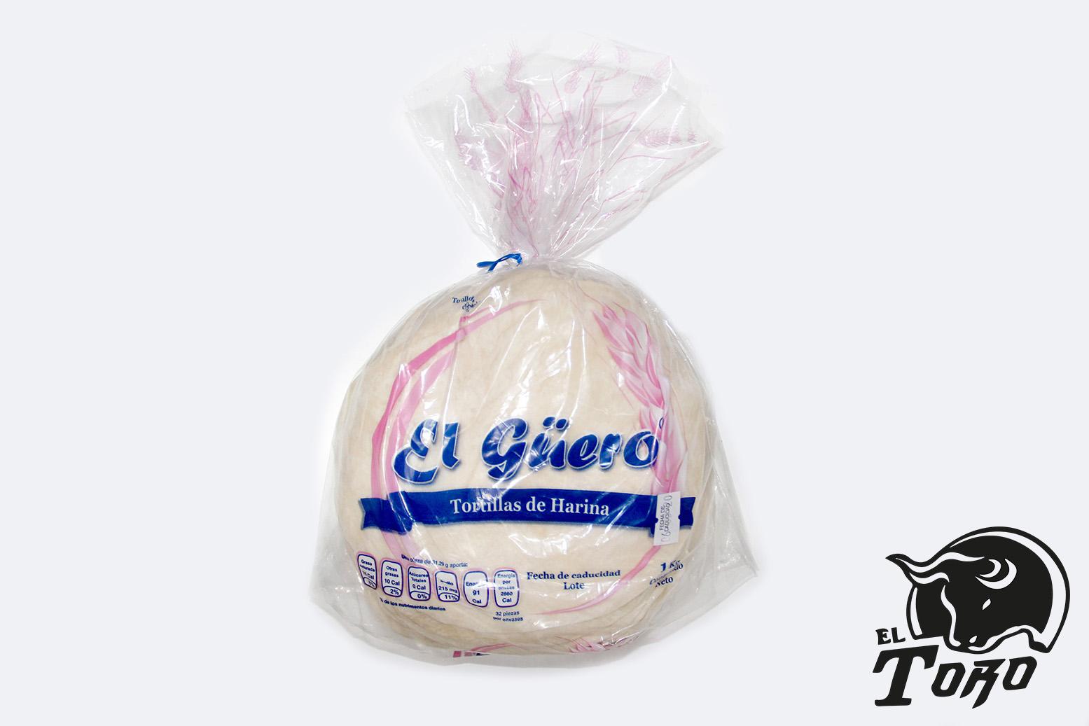 TORTILLAS DE HARINA EL GUERO