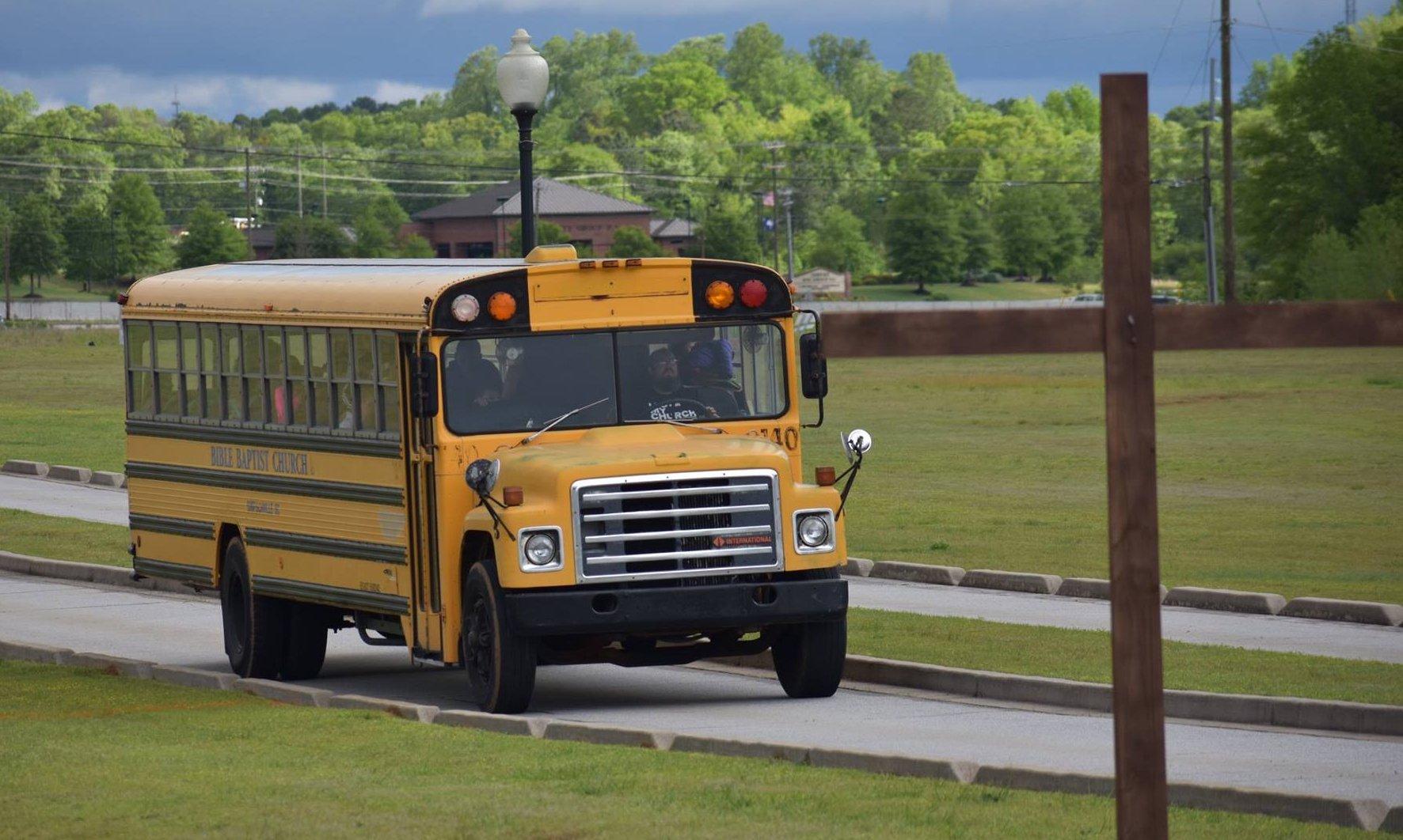 Bible Baptist Church Bus