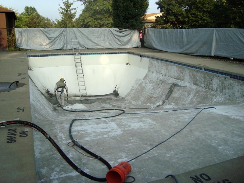 Giant Pool Repairing