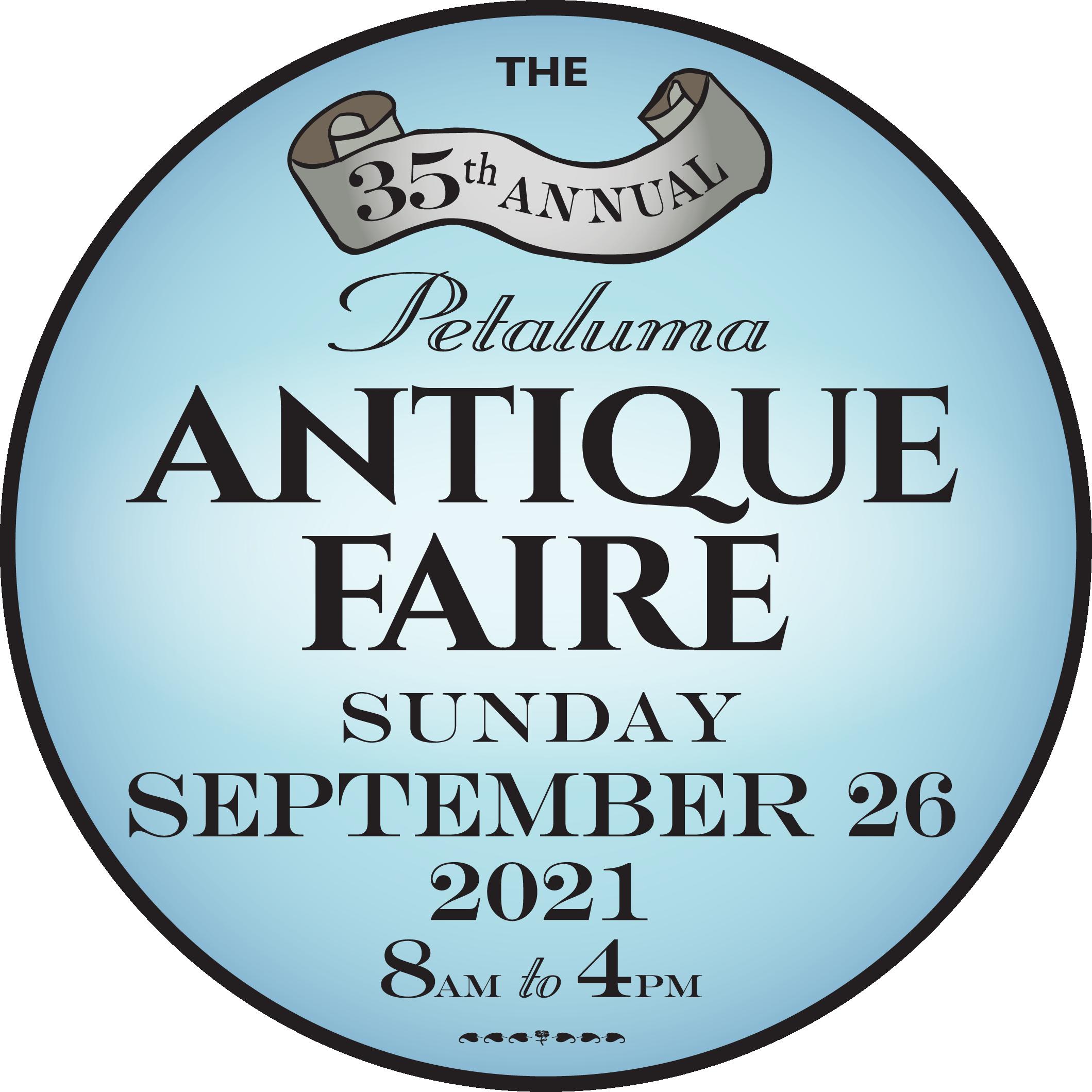 Antique Faire  Sunday 9/26/2021