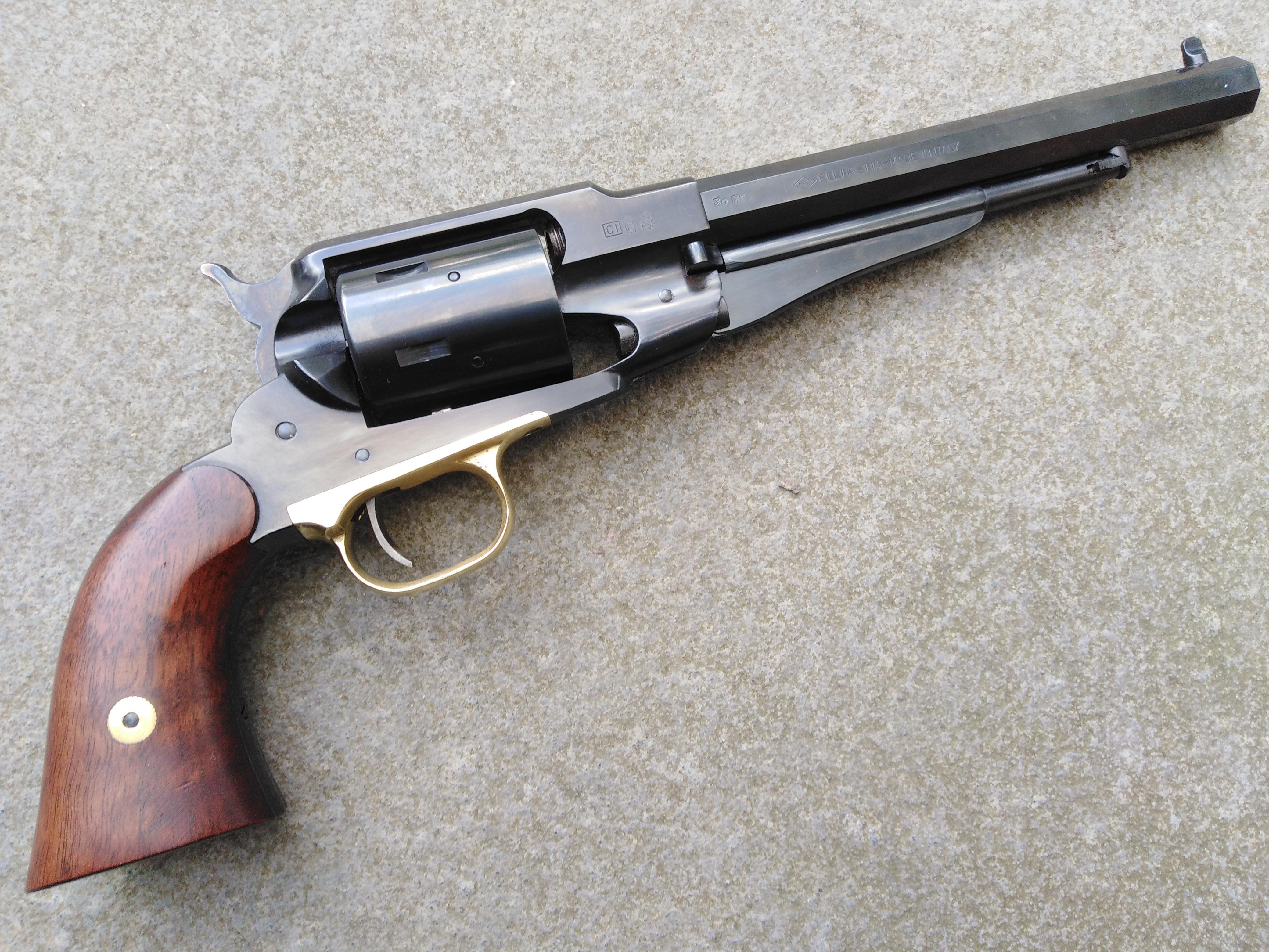 Pietta Steel Framed remington 1858 Army