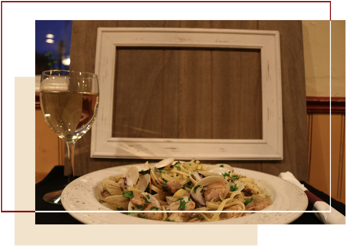 Pasta With Clams Dish