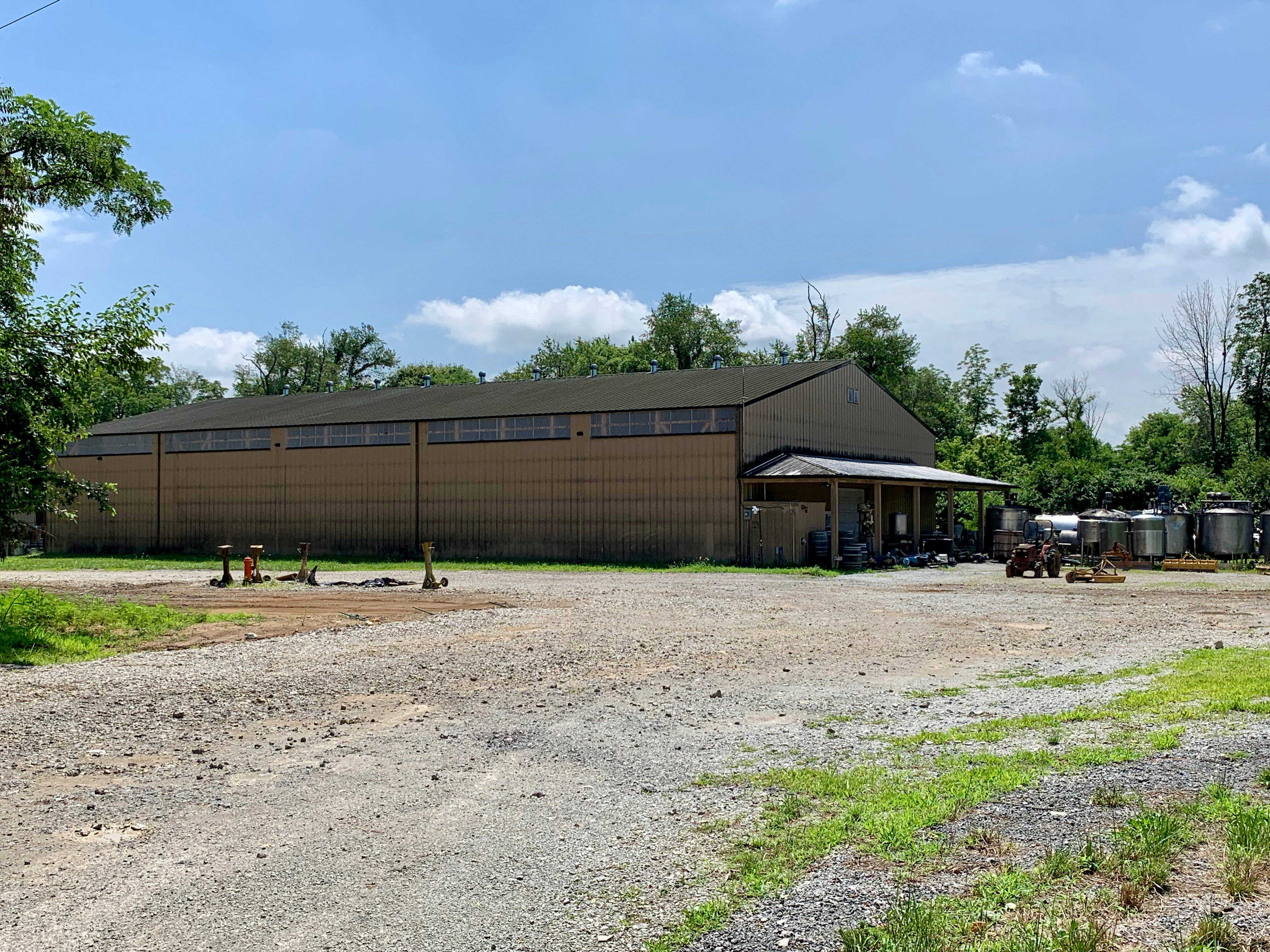 Aging Warehouse -Just down the road - Kentucky Artisan Distillery