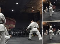Karate Group Training