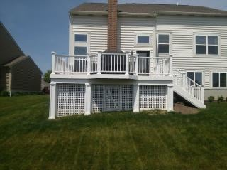 Azek Decking and Rails