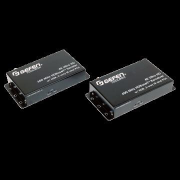 4K Ultra HD 600 MHz HDBaseT Extender  w/ HDR, 2-way IR, and POL