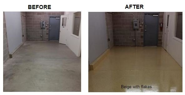 Concrete Defense Before And After