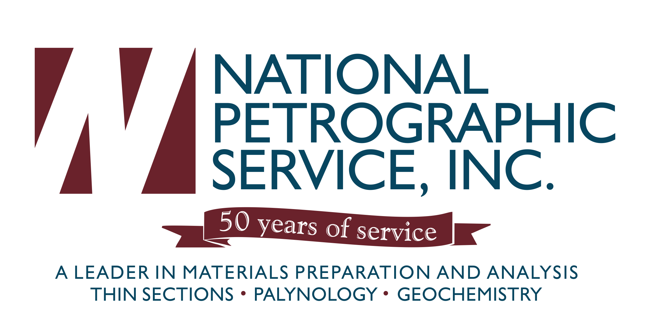 National Petrographic Service, Inc | Logo