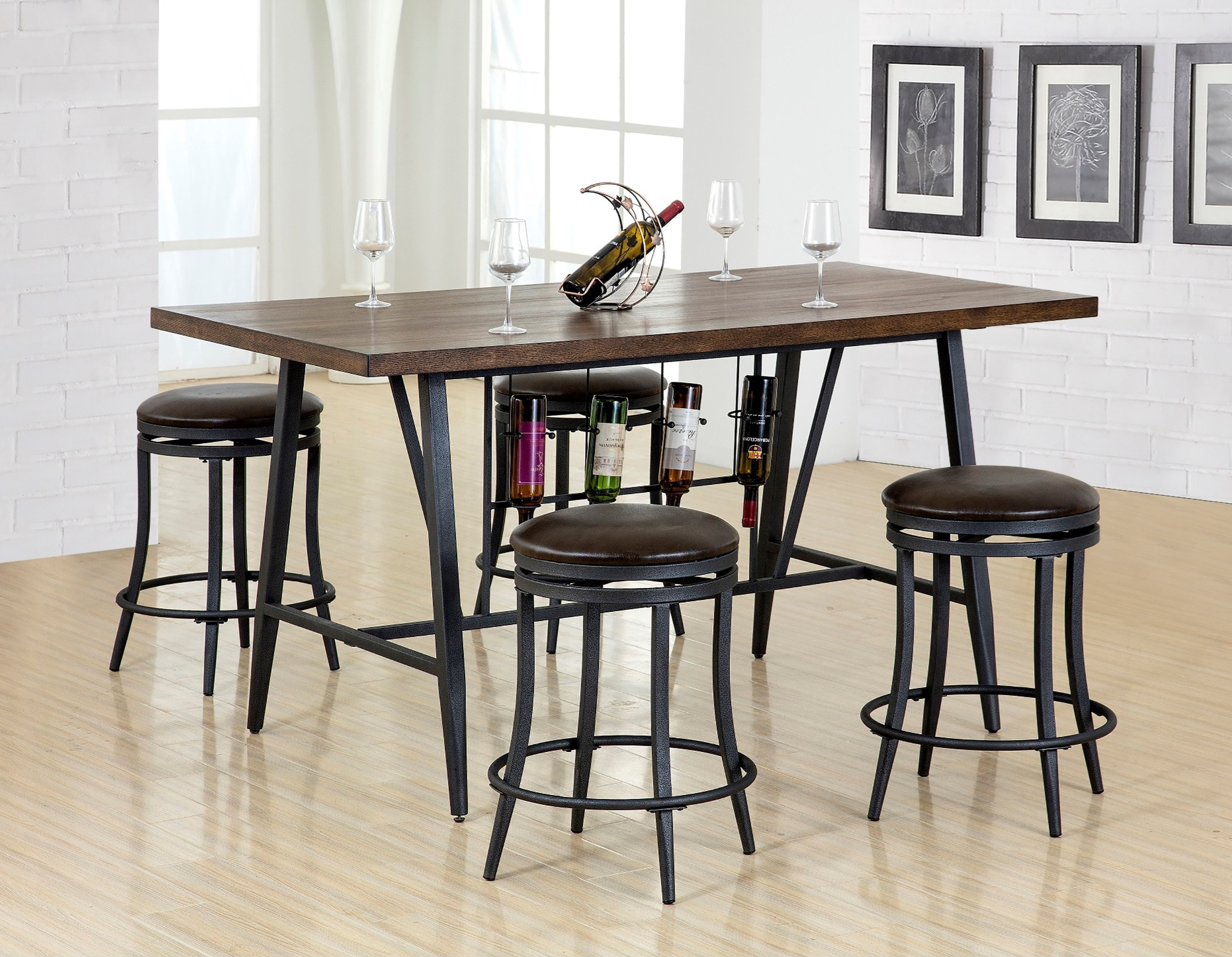 david cm 5 piece counter height table