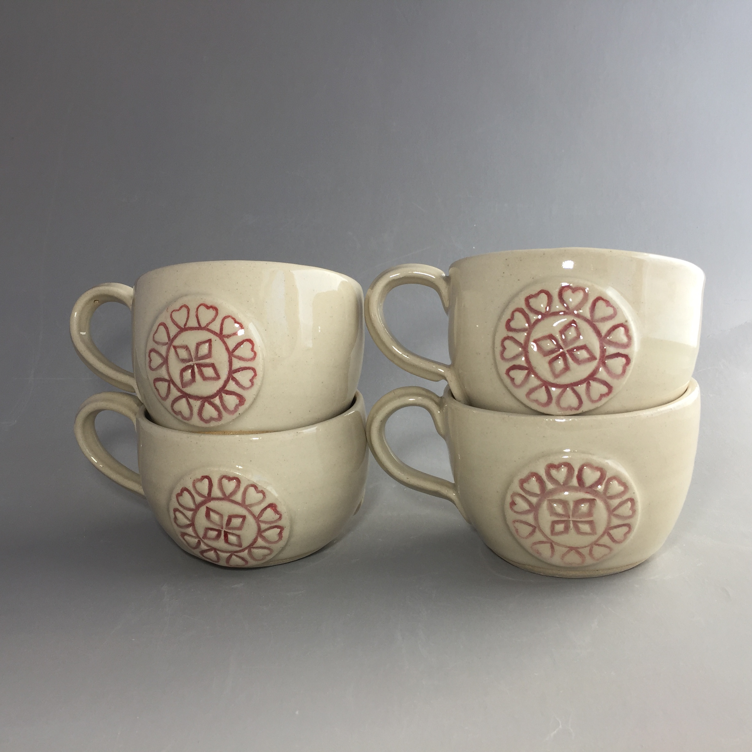 Heart Soup Mugs