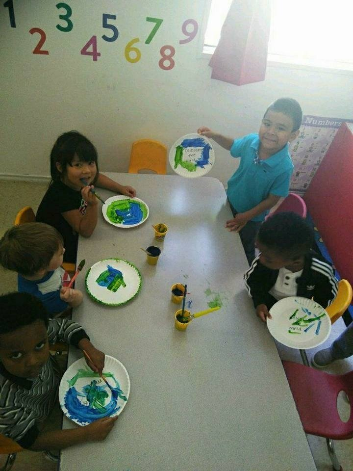 Kids Painting Plates