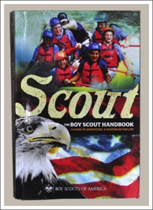 Braille version of the Anniversary Edition of the Boy Scouts of America Handbook