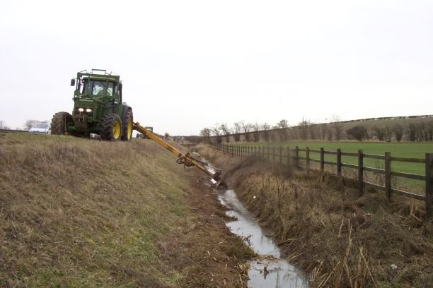 Ditch Cleaning - Cambridgeshire