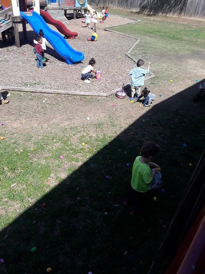 Kids Playing in the Yard