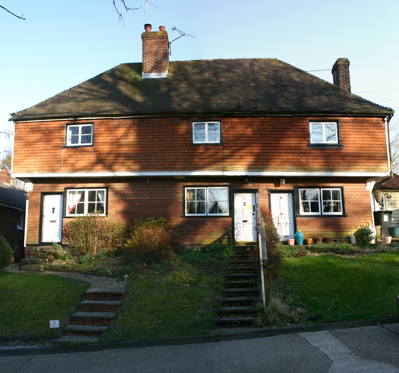 2 Bank Cottages, Canterbury, Loft conversion and refurbishment to Grade 2 listed 17th Century, timber framed building.