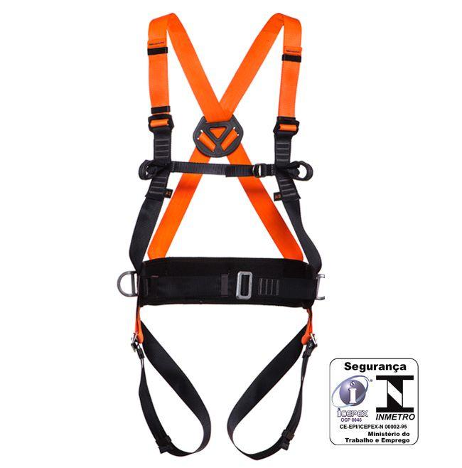 Cinturão paraquedista abdominal com regulagem total