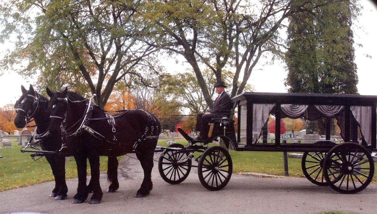 Horse Drawn Casket