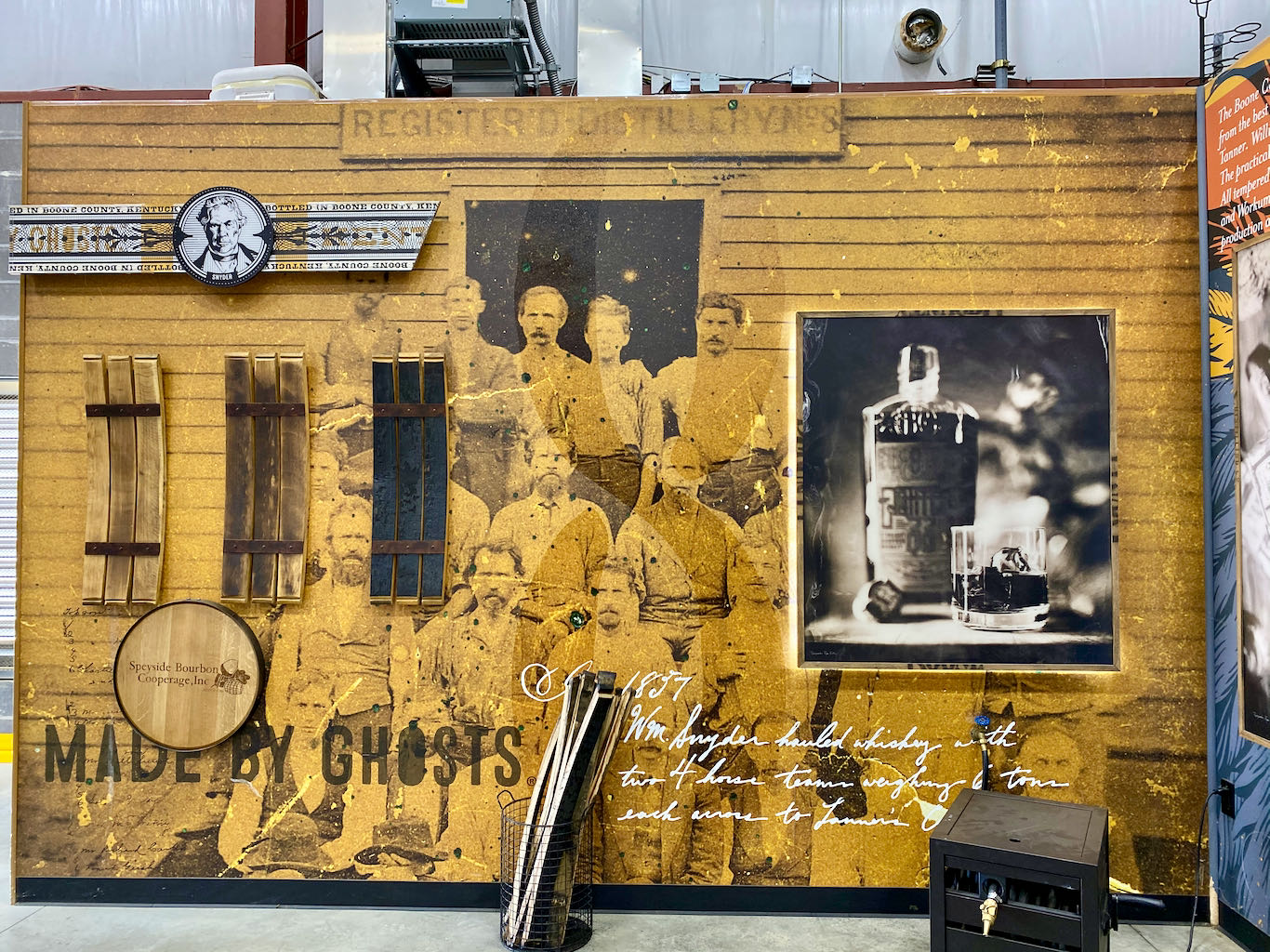 Cooperage Information -Boone County Distilling Company