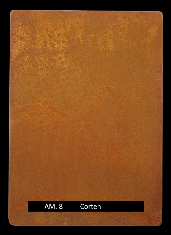 Metal finishes - metal coating AM.8 Corten