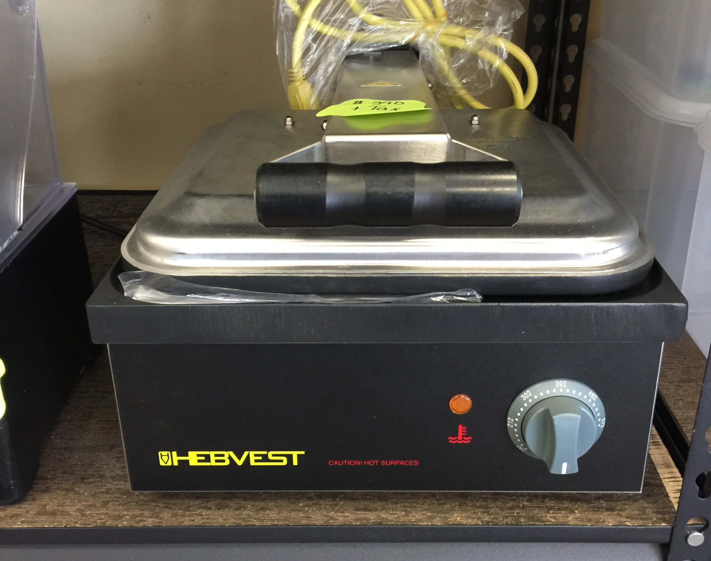 New Hebvest Panini Press  13 x 14 Cooking Surface  120 Volt $ 390.00