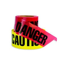 11 Danger and Caution Tape