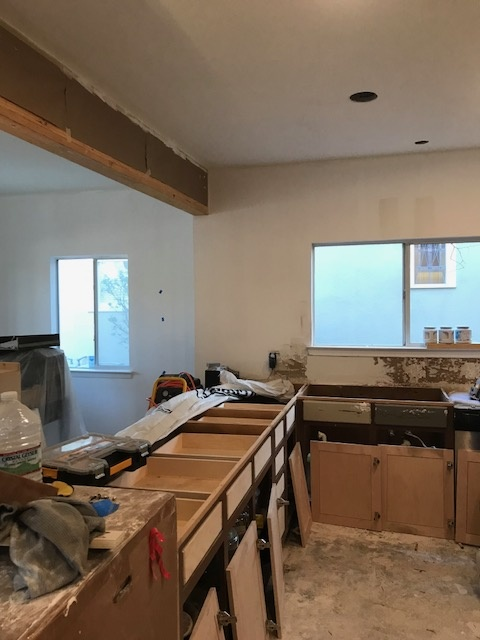 Kitchen Area Before